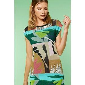 New Aldomartins Heby Knit Dress Multicolored Sz 6